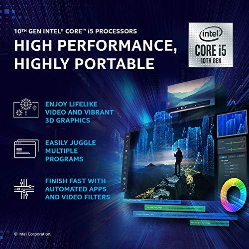 Acer Swift 5 Intel Core i5 10th Gen 14-inch Full HD IPS 1920 x 1080 Display Ultra Thin and Light Laptop (8GB Ram/512GB SSD/Windows 10 Home/Charcoal Blue/0.99kg), SF514-54T