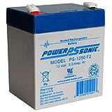 Power-Sonic Genuine PS-1250 F2 12V 5 Ah SLA Battery