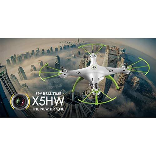 Quad-Copter SYMA X5HW 2.4G 4-Kanal mit Gyro + Kamera (Blau)
