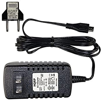 HQRP AC Adapter for Emergency Radio iRonsnow IS-088+ / IS-088U+ / IS-366 / IS-388 / IS-399 NOAA Radio [UL Listed] + Euro Plug Adapte