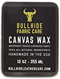 jacket wax - Canvas Wax 6 oz - Natural Canvas Wax for Heavy Fabric Items - Made in USA