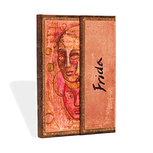 Paperblanks Notizbuch mit Lesebändchen & Innentasche | Frida, Ein Doppelporträt | Mini (140 x 100 mm) | 176 Seiten | Liniert