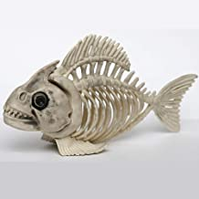 Fake Fish Skeleton Halloween Decoration