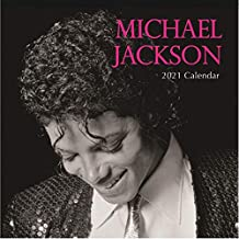 2021 Wall Calendar - Michael Jackson, 12 x 12 Inch Monthly View, 16-Month, Includes 180 Reminder Stickers