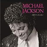 Calendario de pared 2021 – Michael Jackson, vista mensual de 16 meses, incluye 180 pegatinas de recordatorio.