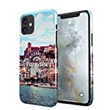 Welcome To Paradise Ibiza San Antonio Eivissa Tropical Chill Island Hard Thin Plastic Phone Case Cover For iPhone 11