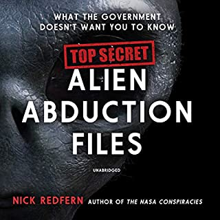 Top Secret Alien Abduction Files audiobook cover art