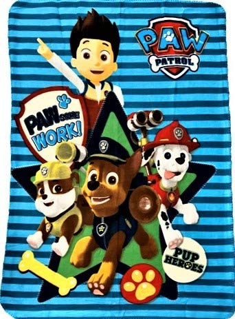 Paw'Patrol Chase, Marshall and Skye All in Fleece...