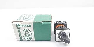 KLOCKNER MOELLER T0-2-67/3084/EZ Rotary CAM Switch 600V-AC D658515