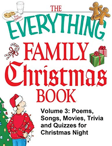 The everything Christmas book Volume 3 - Poems, songs, movies, trivia and quizzes for Christmas night : A must have christmas book for festive season (English Edition)