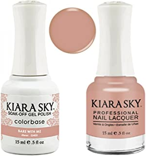 Kiara Sky Matching Gel Polish + Nail Lacquer, Bare with Me, .5 fl. oz
