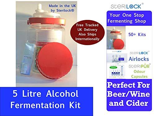 Klarstein Maischfest /• cuve de fermentation /• kit de brassage /• acier 304 /• fermentation du vin et de la bi/ère /• 35 litres de volume /• /écran tactile et LCD /• barboteur inclus /• inox