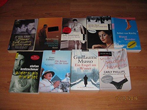 Bücherpaket 20 Bücher Romane Karton Kiste