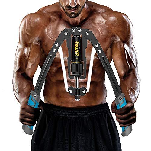 筋トレ アームバー エキスパンダー 大胸筋トレーニング器具 アームレスリング器具 筋トレグッズ 最新版 油圧式 グリップ 上腕二頭筋 手首 三角筋 背筋