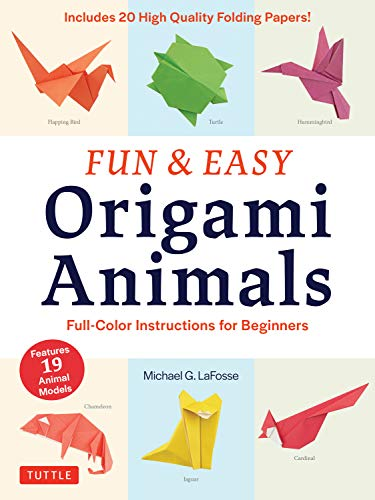 Fun & Easy Origami Animals Ebook: Full-Color Instructions For
