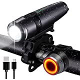 FARRIDE USB Rechargeable Bike Lights, 800LM...
