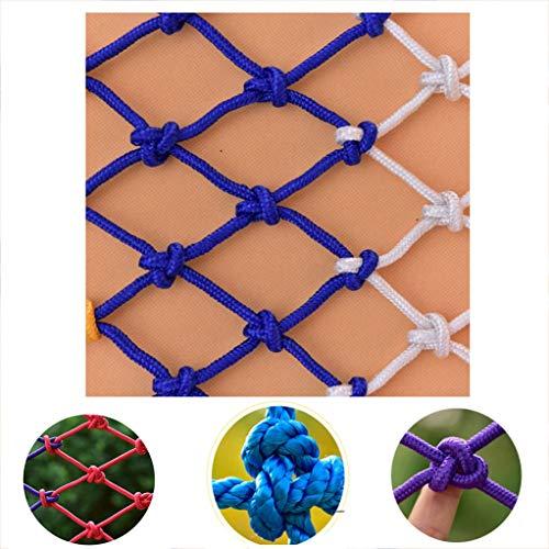 Xink-fhw Sicherheitsnetz für Balkonbau, für Kinder, hohe Höhe, Netz gegen Herunterfallen, Netz, Treppe, Schutznetz aus Nylon