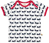 loud + proud Unisex Baby Bio Baumwolle, GOTS Zertifiziert T-Shirt, Blau (Navy Ny), (Herstellergröße: 98/104)