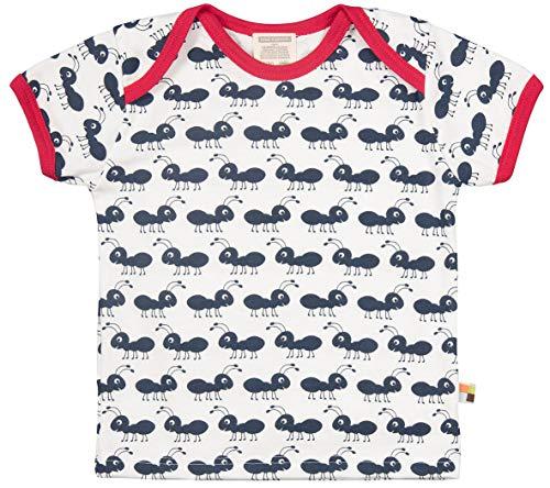 loud + proud Unisex Baby Bio Baumwolle, GOTS Zertifiziert T-Shirt, Blau (Navy Ny), Herstellergröße: 86/92