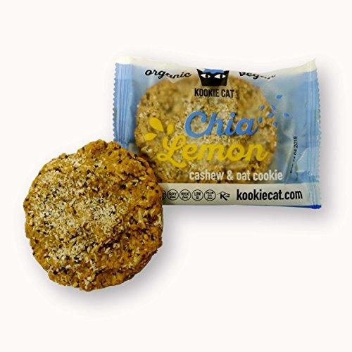 Kookiecat Galleta De Avena Con Chia Y Limon 50 G Chia Y Limon - Chia And Lemon Kookiecat 200 g