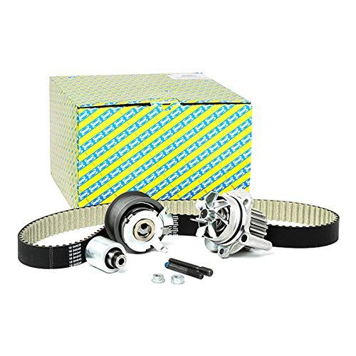 SNR Wasserpumpe + Zahnriemensatz Wapu Pumpe Zahn Riemen Antriebsriemen Antriebsstrang Kühlmittel Kühlmittelpumpe Kühlmittelkreislauf KDP457.490