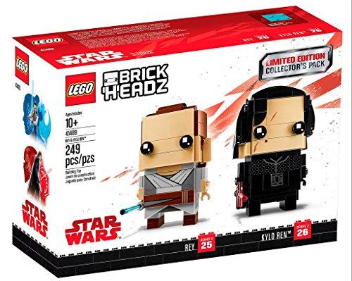 LEGO Rey & Kylo REN™ - Limited Edition - Match Rey Against Kylo REN™ in BrickHeadz Lightsaber Duel!