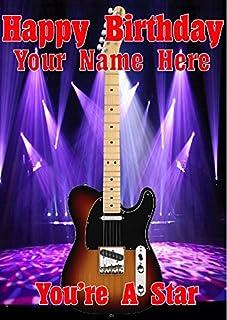 Amazon.es: Guitarra Eléctrica - Tarjetas de felicitación / Tarjetas ...