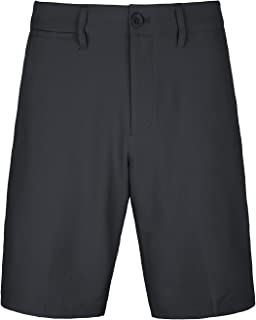Bakery Men's Golf Shorts Khaki Stretch Tech Light Relaxed Fit Plaid Quick Dry Twill Short