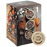 Corasol Premium Flavoured Coffee Kaffee-Adventskalender XXL 2021, 24 aromatisierte Kaffee-Kreationen im Coffeebag für Genießer (240 g)