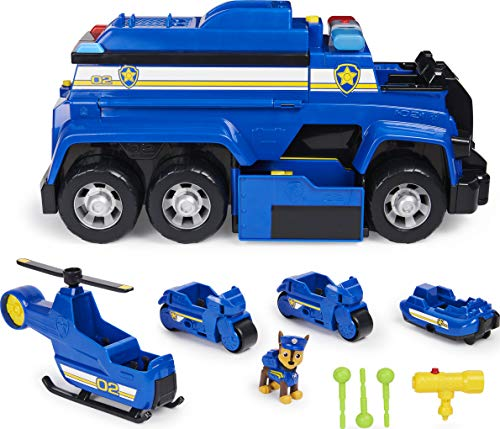 Paw Patrol, Chase's 5-in-1 Ultimate Cruiser with Lights and Sounds $34.99 - Amazon