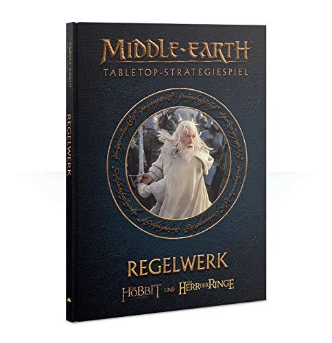 Games Workshop Middle Earth Regelbuch (Deutsch) Herr der Ringe / Hobbit Regelwerk