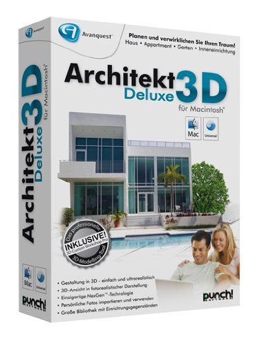 Avanquest Architekt 3D Deluxe für MAC