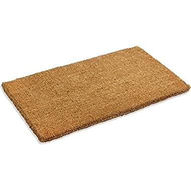 Kempf Natural Coco Coir Doormat, 24-Inch by 48-Inch, 1  Thick Low Clearance