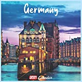 Germany 2021 Calendar: Official Germany Wall Calendar 2021, 18 Months