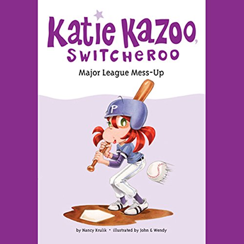 Major League Mess-Up audiobook cover art