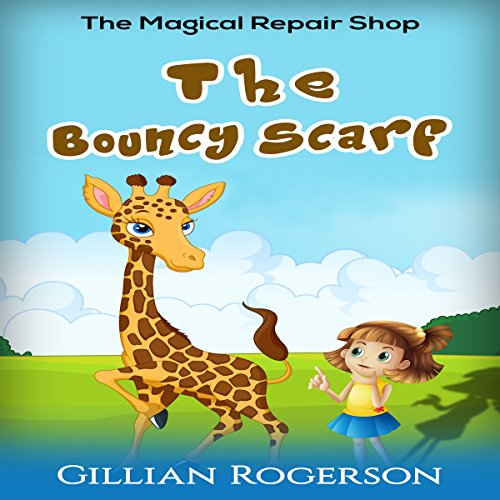 The Bouncy Scarf audiobook cover art