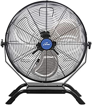 iLIVING Wall Mounted 20 Inches Speed Indoor/Outdoor Weatherproof Fan