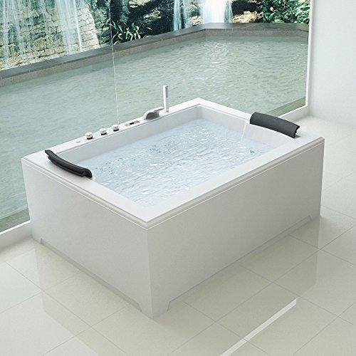 Bagno Italia Vasca idromassaggio 180x141 Full Optional riscaldatore ozonoterapia 32 getti I