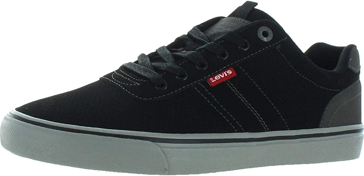 Levi's Mens Miles Ranking TOP19 Perf Casual Shoe Contrast Sneaker Trim Challenge the lowest price