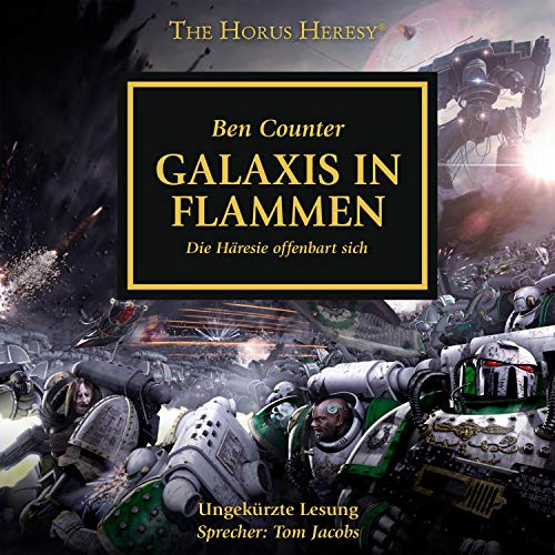 Galaxis in Flammen cover art