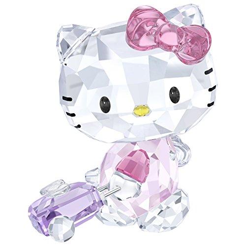 Swarovski Hello Kitty Auf Reise, Kristall, Mehrfarbig, 5.1 x 4.2 x 3.4 cm