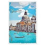 artboxONE Poster 30x20 cm Städte Venedig Vintage