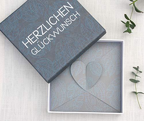 Geldgeschenk - Geld Verpackung zur Hochzeit und zum Geburtstag Shiny Love