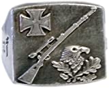MK-art Ring, Adler, Schützenring, Deutscher Scharfschütze, Sniper K98