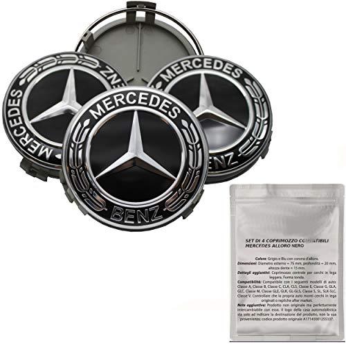 Nuovo Originale Mercedes Benz CLK W209 Posteriore Tronco Cromo Stella Stemma