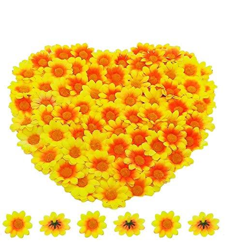 Künstliche Gerbera Blumen Köpfe...