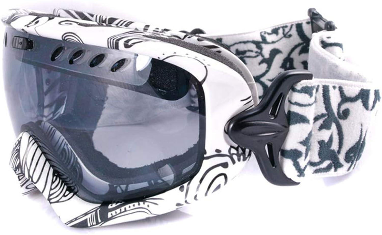 Skibrille Skibrille Skibrille Skibrille - TPU PC, doppelter Antibeschlagschutz, sphärischer Zylinder, UV-Schutz, kompakt, universelle Ski- und Bergsport-Schutzbrille für Herren und Damen - 6 Farben, 2 Ausführungen Verf B07KWY3Z9B  Zuverlässige Leistung c45c5c