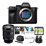 Sony Alpha a7R IV Mirrorless Digital Camera Body with 24-105mm f/4 Lens and Software Suite Bundle (8 Items)