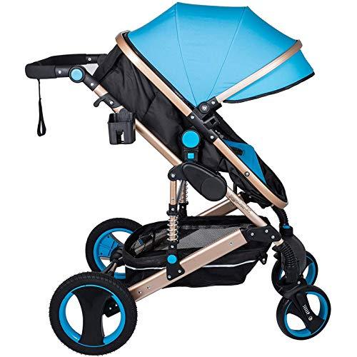 Cochecitos Para Niños Pequeños, Buggies Para Bebés Plegables Con Asiento Reclinable, Cochecito Ligero Es Adecuado Para Bebés De 0 A 36 Meses