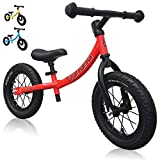 Banana GT Balance Bike - 12' Alloy Wheels Air Tires for Girls and Boys...